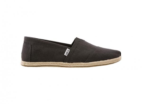 Classic Black Slip-Ons -10008356