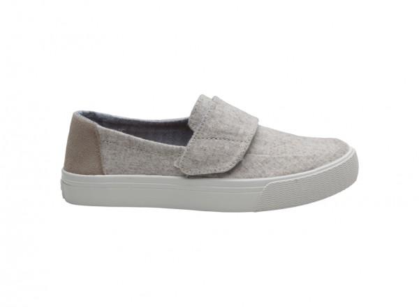 حذاء فلات أبيض - 10009073_WHITE