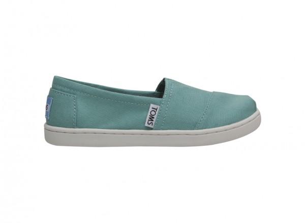 Turquoise Slip-Ons