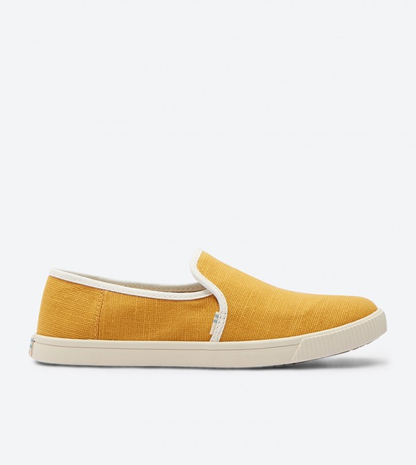 527db28ee0f Toms Clemente Slip-Ons - Yellow 10012390