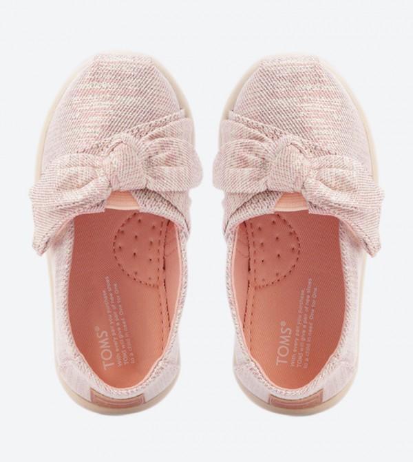 5436ba8178bd Tiny Bow Details Classics Slip-Ons - Pink - 10012573 10012573