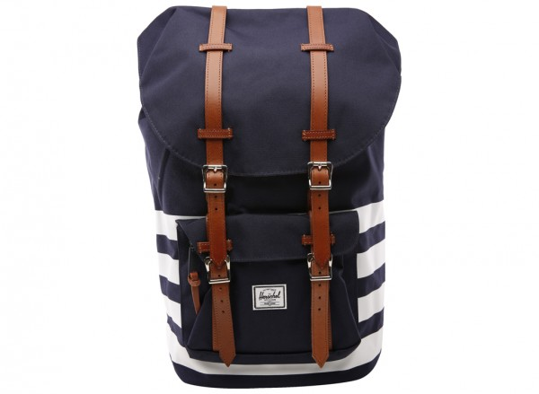 LITTLE AMERICA Blue Backpack-10014-00903-OS