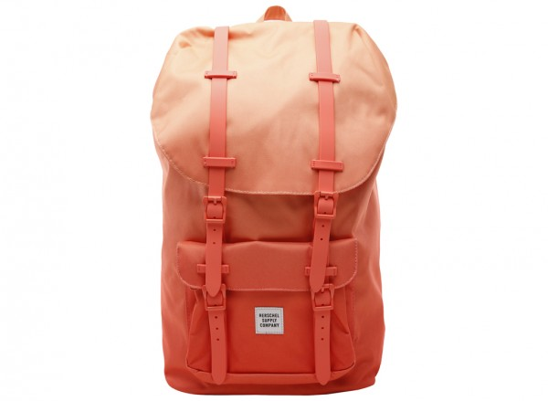 Little America Orange Backpack