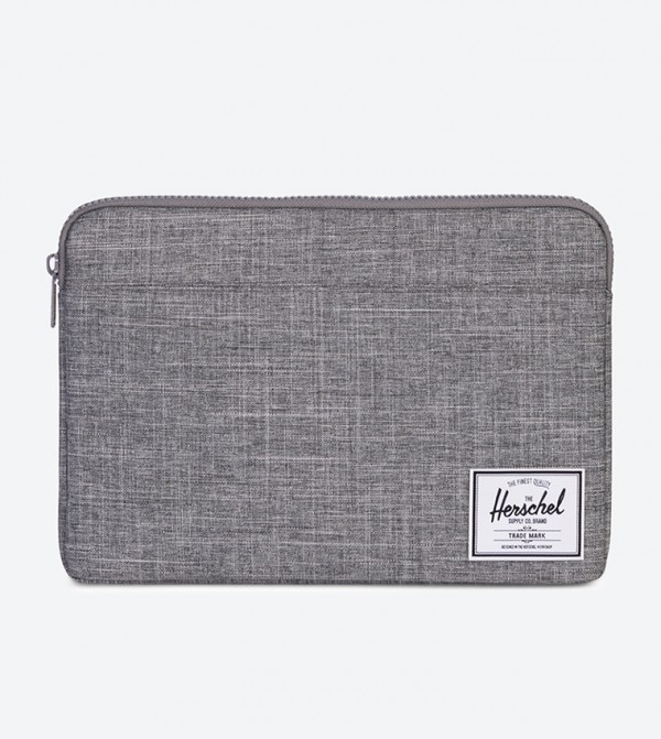 1090a7c74193 Herschel Anchor 13 Inch MacBook Sleeve - Grey - 10054-02180-13 10054-02180- 13