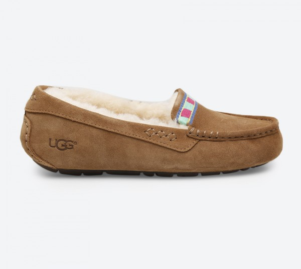 7a278a22f64 Ansley Embroidery Loafer - Brown