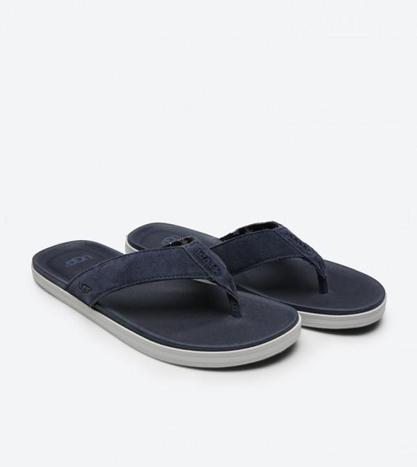 4b41589b458 Beach Flip Flops - Navy 1020084