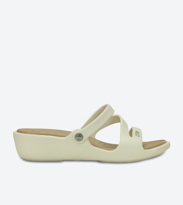 4b44291b184e3b Home  Patricia Wedge Sandals - Beige 10386-13S. 10386-13S-OYSTER-GOLD