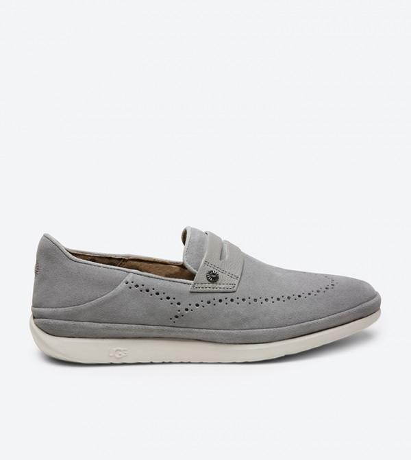 a31618b2959 Cali Penny Slip-Ons - Grey 1092174