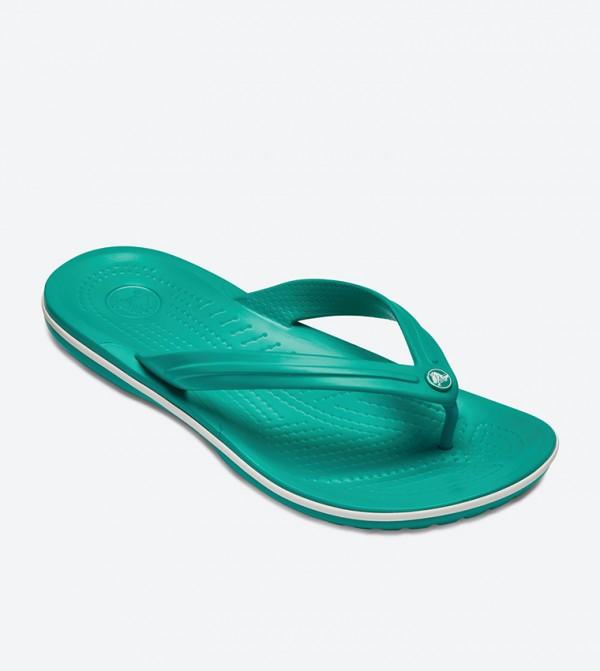 8c35253b3ed Crocband Flip Flops - Green 11033-38O