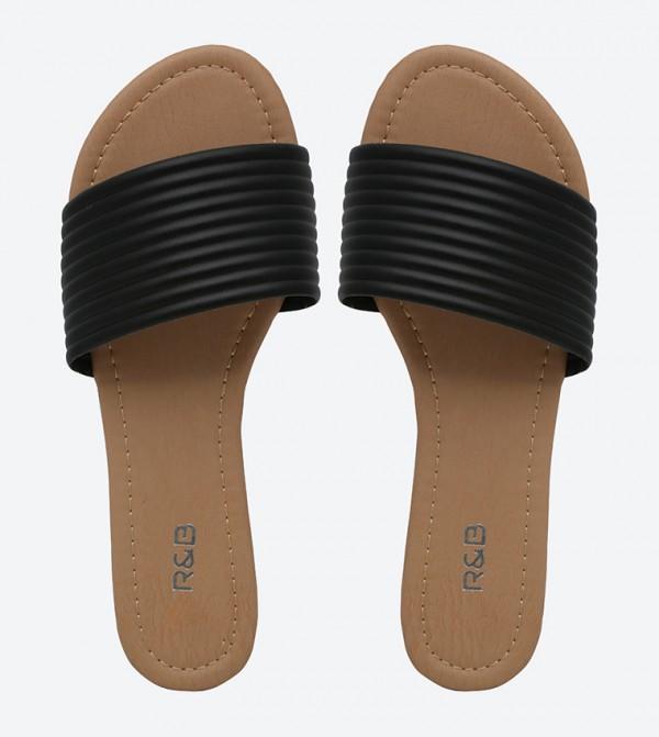 9aba4d56e Basic Slide Sandals - Black