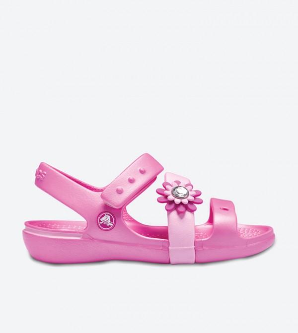 Crocs Keeley Petal Charm Sandals - Pink 14852-6U9 1fb3236c83