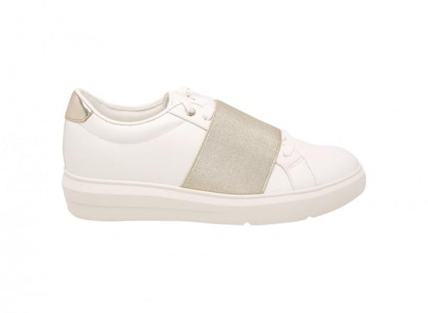 حذاء سنيكرز بيازو أبيض