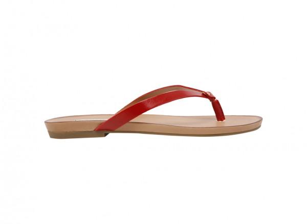 حذاء فلات تريشيا أحمر