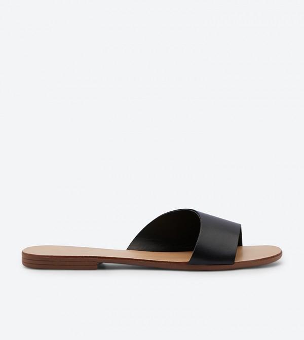 95126deb236 Aldo Kedirama Asymmetrical Slides - Black 20120501-KEDIRAMA