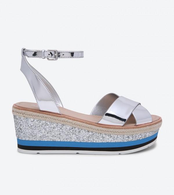 fdcc238f8e60 Aldo Asiella Wedge Sandals - Silver