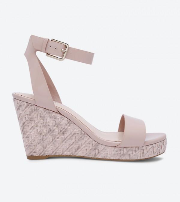 cf6b0a47ae46 Aldo Unaliviel Wedge Sandals - Pink
