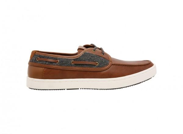 حذاء آلاد طويل الرباط بني