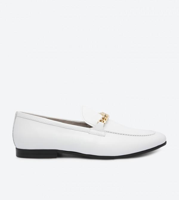 f54858d921f Aldo Royton Loafers - White
