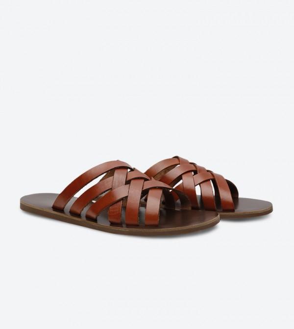Aldo Badino Sandals - Brown