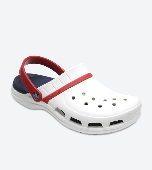 5d5cbfe5340165 Modi Sport Clog Sandals - White 204143-1C3