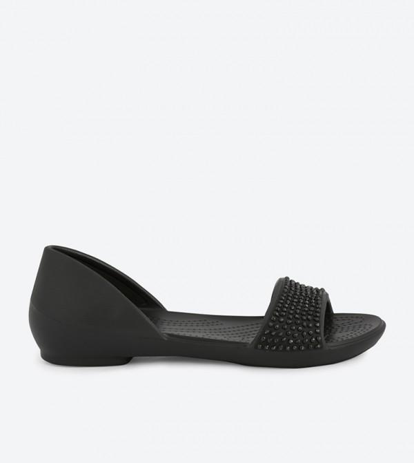 Home  Lina Embellished Dorsay Sandals - Black. 204361-060-BLACK-BLACK d6d169d4157