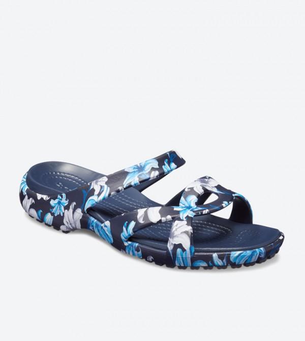 d8545d8c0603 Meleen Twist Graphic Sandals - Navy 204703-97P