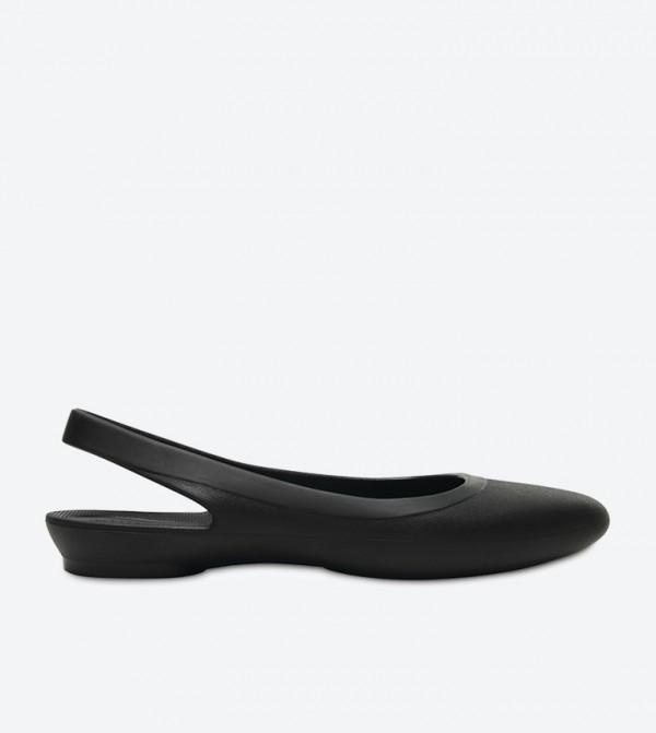 b3eb1600dca6bd Crocs Eve Slingback Ballerinas - Black 204955-001