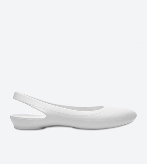 43cdc9c3a630ae Crocs Eve Slingback Ballerinas - White 204955-159