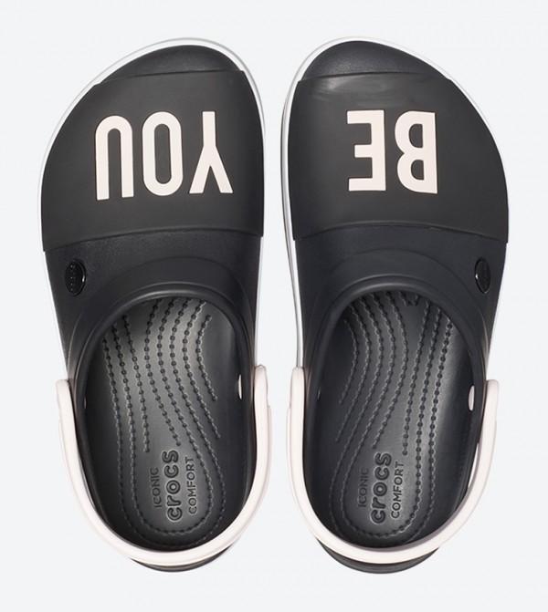 eea005ff6 Cb Platform Bold Color Round Toe Clog - Black
