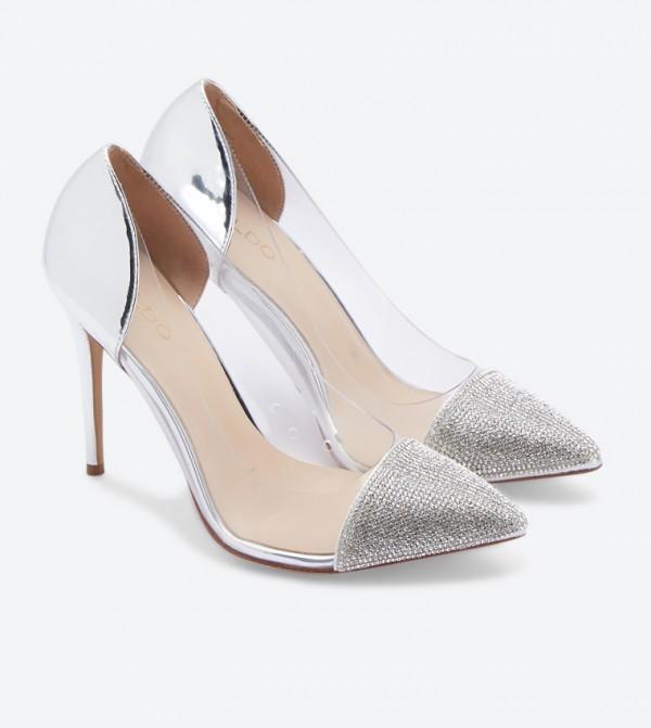 3e14dd7f94 Mirori Transparent High Heel Pointed Toe Pumps - Multi