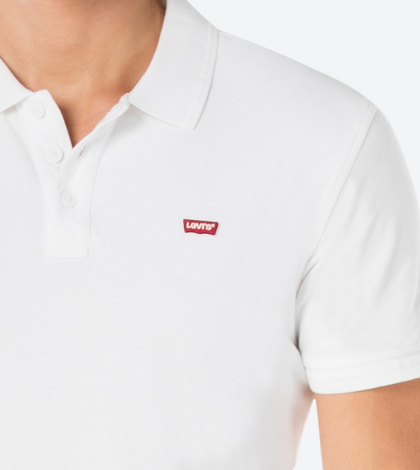 c9b337cc Levis Housemark Polo Shirt - White