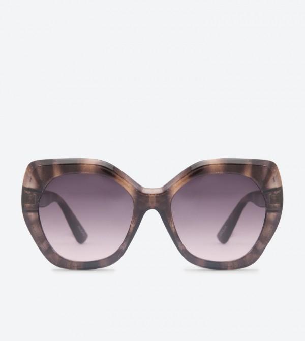 d802fb3a7941 Aldo Jeraliviel Oversized Sunglasses - Brown