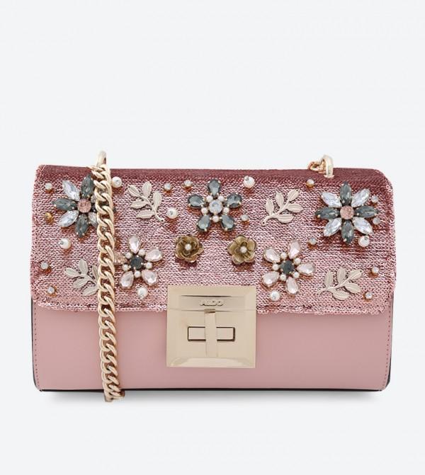 8011af1086d Home  Derosia Cross Body Bag - Pink. 23340403-DEROSIA-LIGHT-PINK