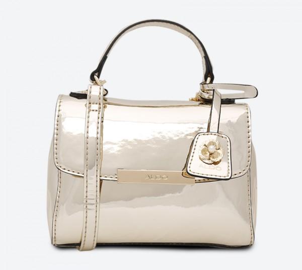 86e0a9b2cbf Aldo Inloving Mini Bag - Metallic