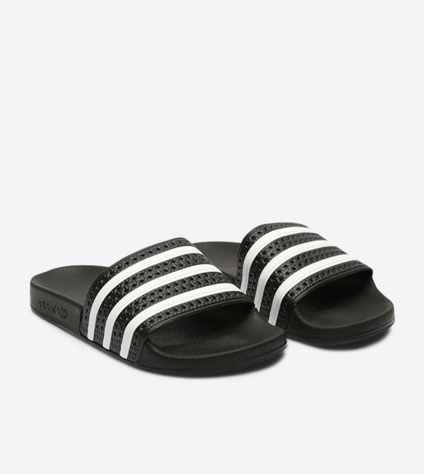 05a62d15303fec Adilette Slides - Black 280647