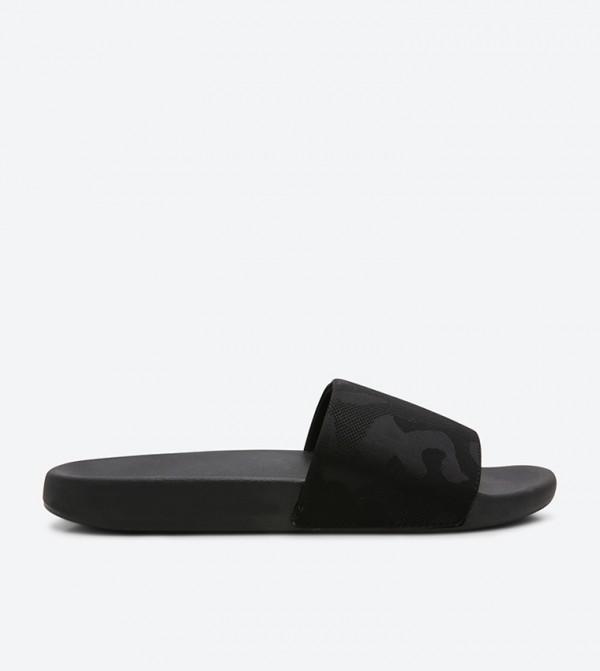 21ef42fb011c96 Call it Spring Johen Slide Sandals - Black