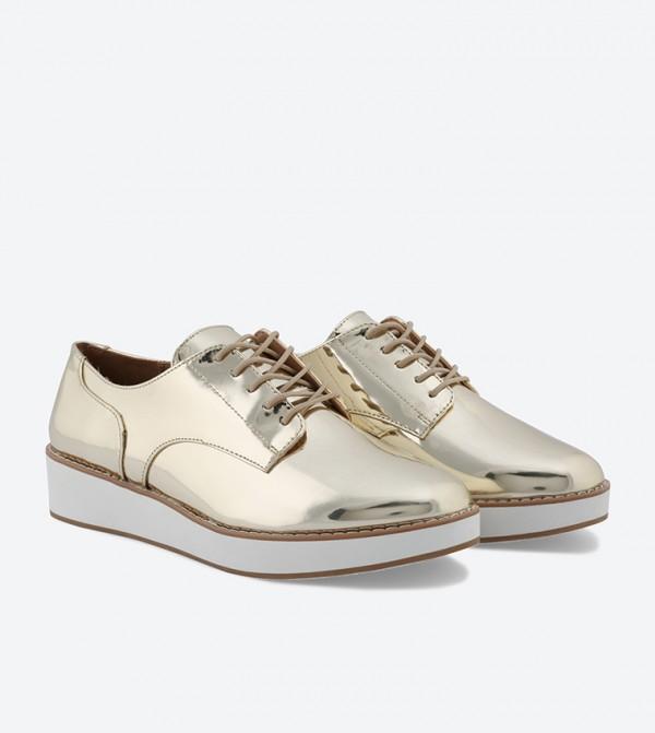 852cd41db183 Mclinn Lace-Up Shoes - Gold