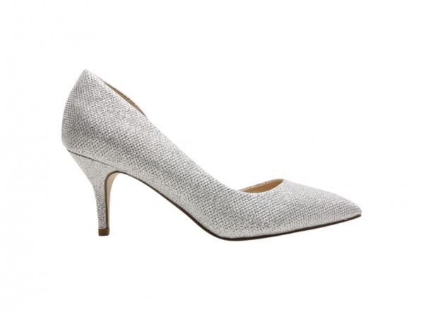 Ulirasa Silver Mid Heel
