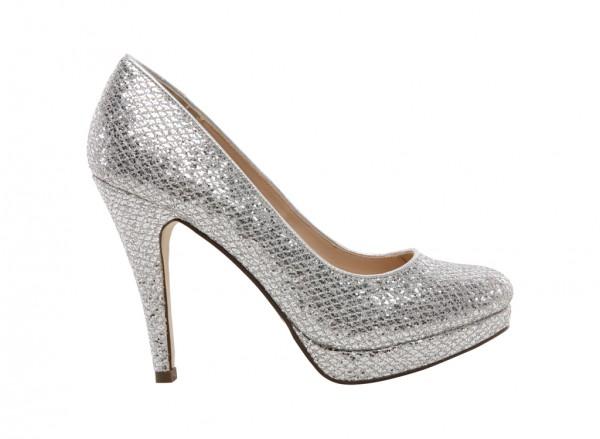 Dress Basic Silver Shoes