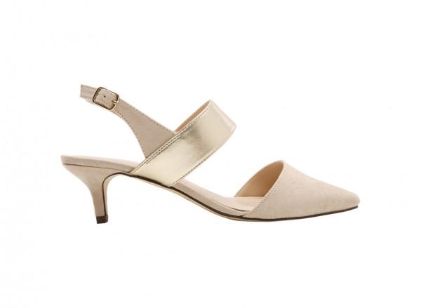 Carnara Brown Mid Heel