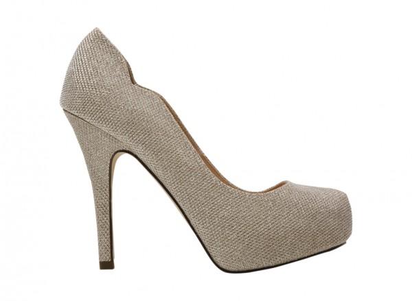 Jarona Gold High Heel