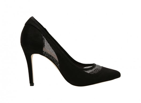 Kamdena Black High Heel