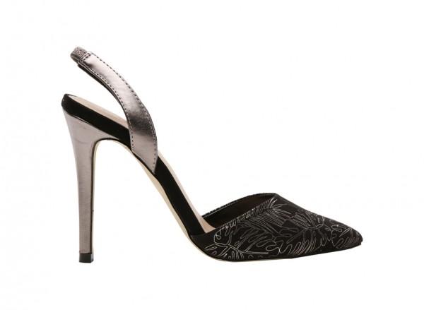 Yelan Black High Heel