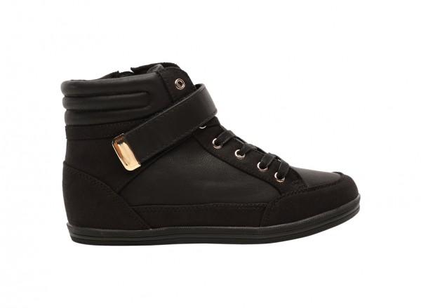 Gliradia Black Shoes