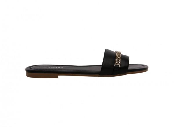 Sport Fashion Black Sandals-30120201-BRELIWIEL