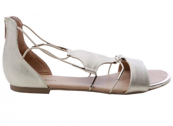 حذاء بني مسطح - تورلينو