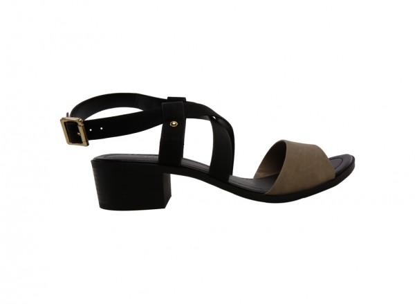 City Fashion Black Sandals-30120502-FRAWIEN