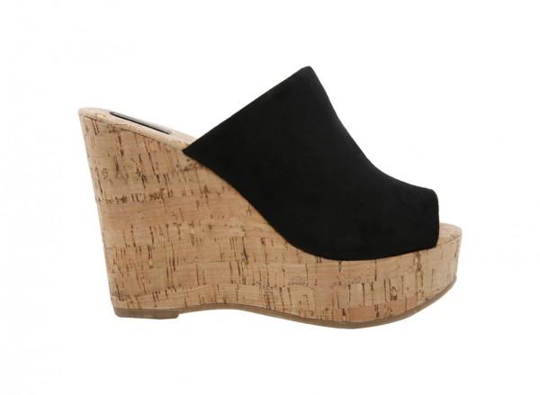 Fletchera Black Sandals