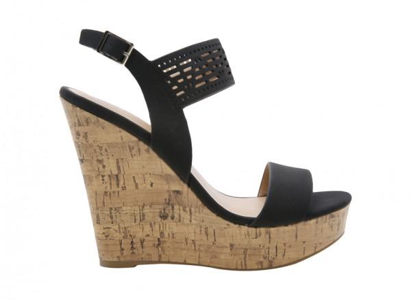 Tiradien Black Sandals