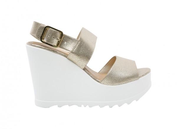 Vaywiel Metallic  Sandals